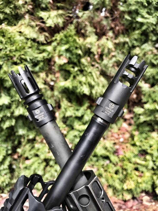Flash Hider vs. Muzzle Brake